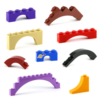 LEGO Bricks Arched