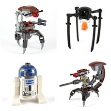 LEGO Figures MultiPart