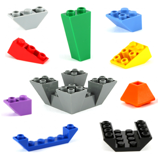 LEGO Slopes Inverted
