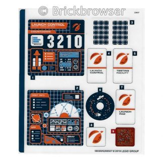 LEGO Sticker Sheets